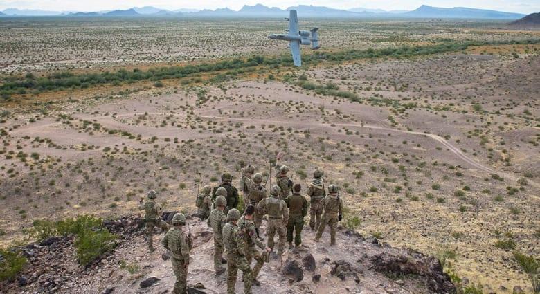 صورة ارشيفية لعناصر بالجيش الأمريكي