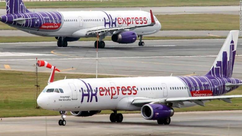 """""""هونغكونغإكسبرس"""" تجبر مسافرة على إجراء اختبار الحمل قبل ركوب الطائرة"""