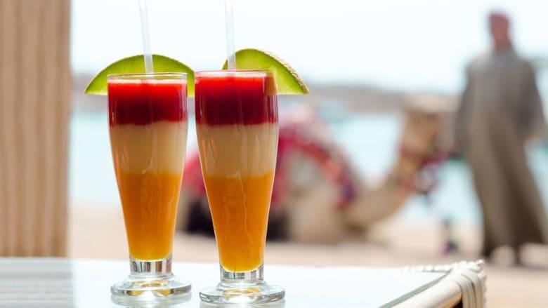 أشهر المشروبات في مصر