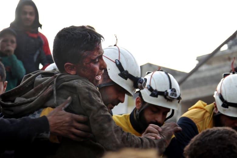 الدفاع الروسية تنفي اتهامات الخوذ البيضاء بشأن قصفها أهدافا مدنية في منطقة التصعيد بإدلب