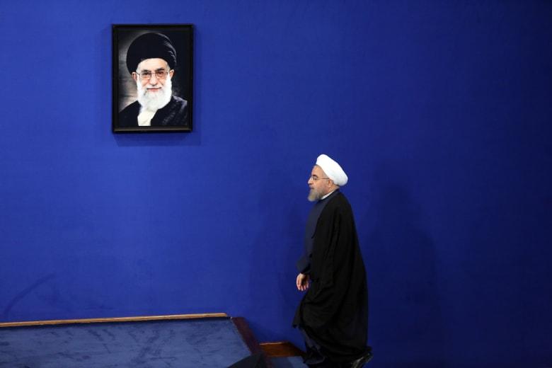 صورة ارشيفية للرئيس الإيراني حسن روحاني