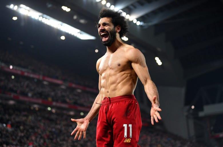 اللاعب المصري ونجم نادي ليفربول الإنجليزي محمد صلاح