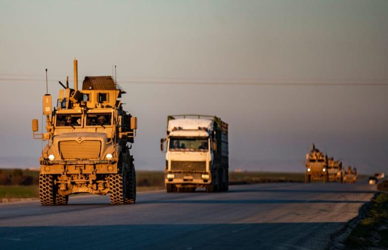 ركب للقوات الأمريكية في شمال سوريا