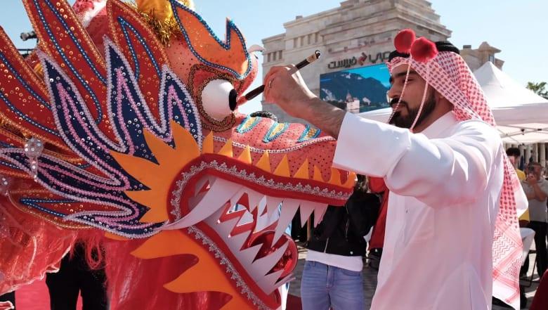 دبي تحتضن أكبر احتفالات السنة الصينية الجديدة التي تقام خارج الصين