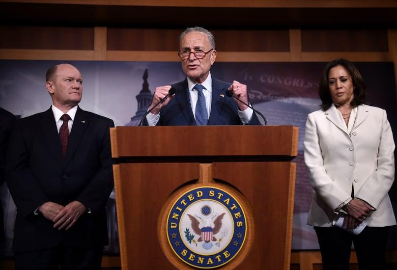 تشاك شومر زعيم الديمقراطيين في مجلس الشيوخ الأمريكي