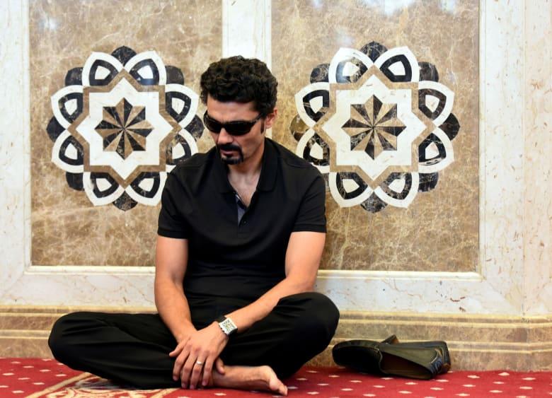 صورة لخالد النبوي داخل مسجد مشير طنطاوي