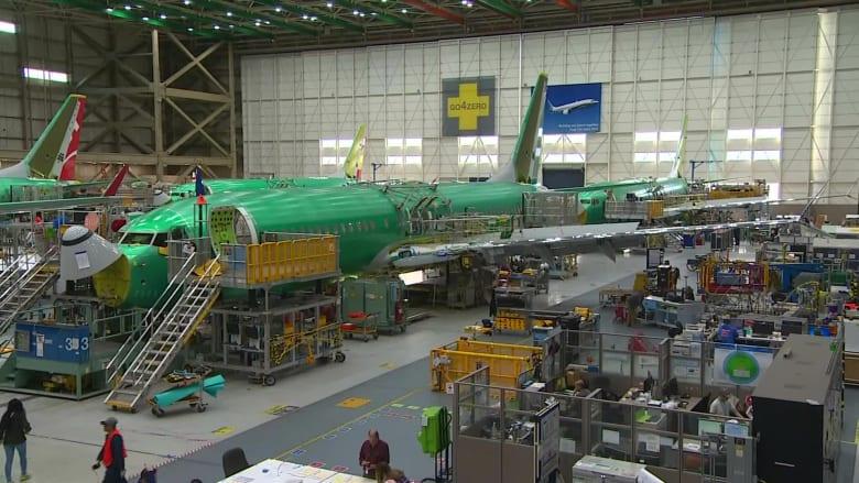 بوينغ لن تنتظر موافقة المنظمين لاستئناف بناء طائراتها من طراز 737 ماكس