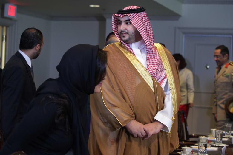 صورة ارشيفية لنائب وزير الدفاع السعودي، الأمير خالد بن سلمان