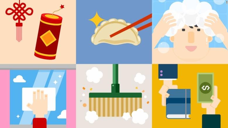 لماذا لا يغسل الأشخاص شعرهم خلال السنة الصينية الجديدة؟