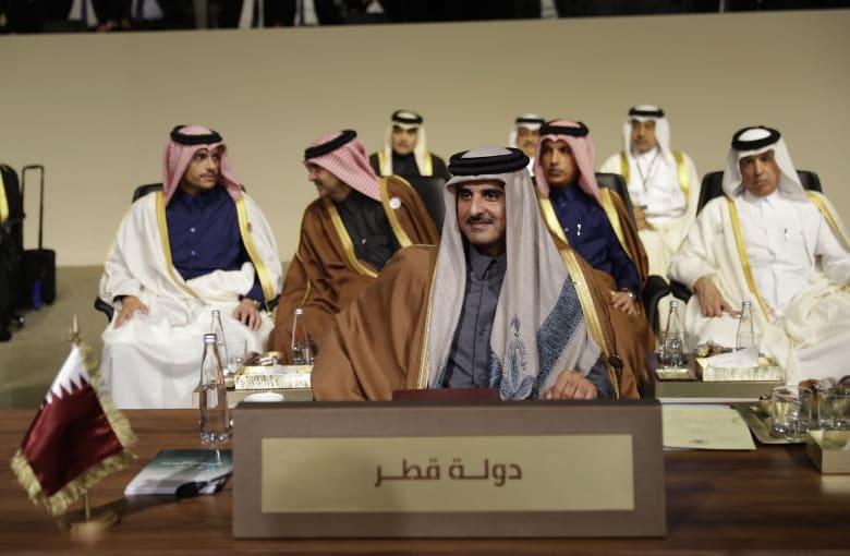 صورة أرشيفية لامير قطر الشيخ تميم بن حمد