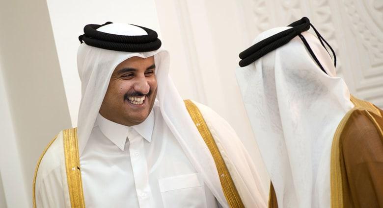 صورة ارشيفية لأمير قطر الشيخ تميم بن حمد آل ثاني