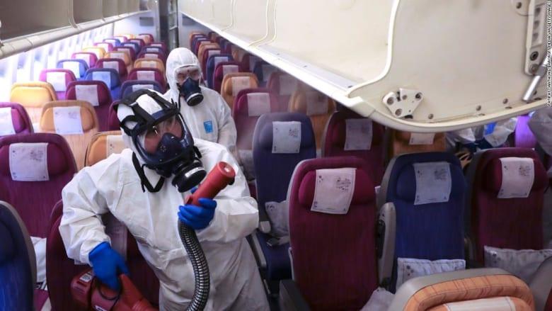 كيف تأخذ شركات الطيران احتياطاتها من فيروس كورونا خلال الرحلات الجوية؟