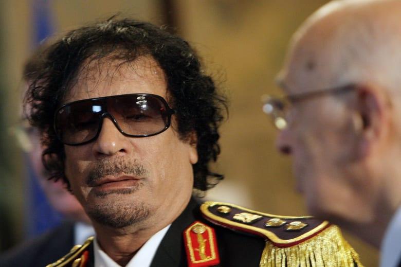"""بعد الإعلان عن الخطة الأمريكية.. مغردون يستذكرون """"صفقة القرن"""" التي اقترحها القذافي"""