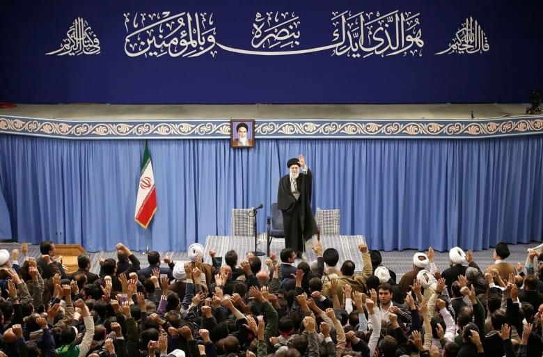 علي خامنئي المرشد الأعلى للثورة الإيرانية