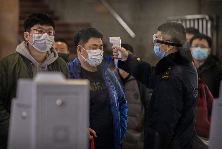 فحصوات في العاصمة الصينية بكين