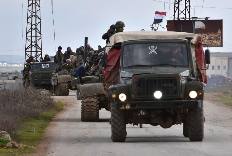 قوات النظام السوري تسيطر على مناطق عدة في شمال غرب البلاد