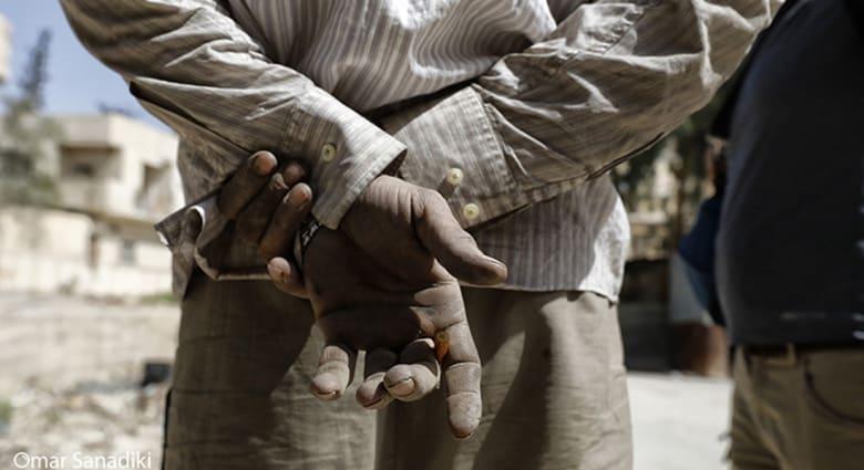صورة من معرض المصور الصحافي السوري عمر صناديقي