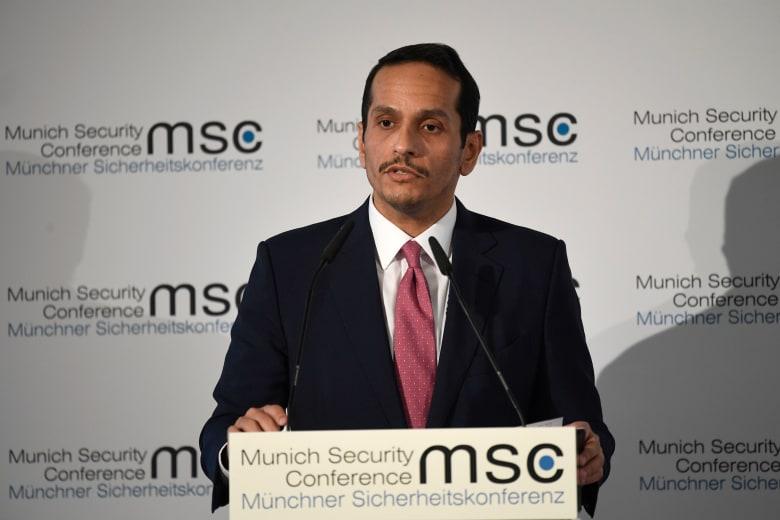 وزير خارجية قطر محمد بن عبدالرحمن