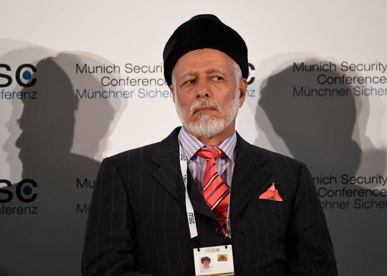 وزير خارجية عمان يوسف بن علوي