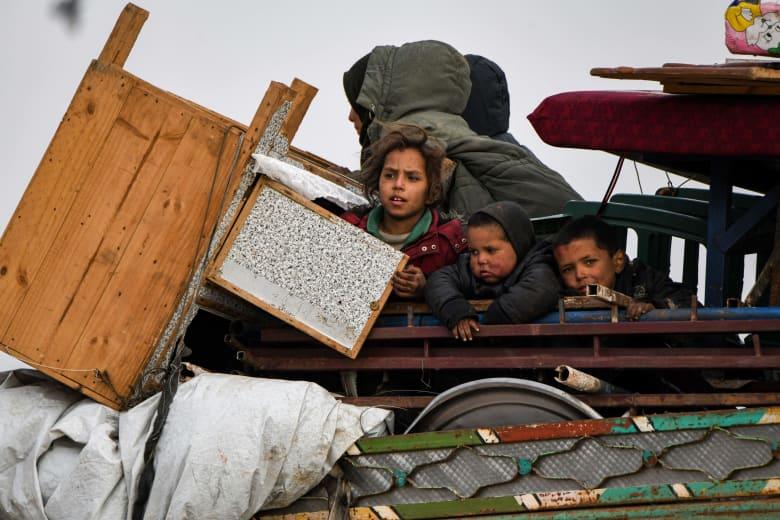 نصف مليون طفل يواجهون الموت بسبب البرد في شمال غرب سوريا