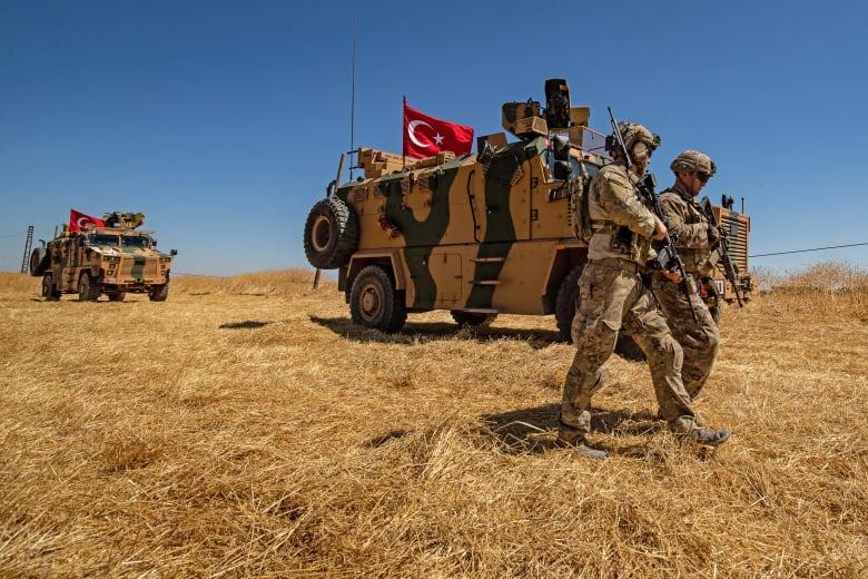صورة ارشيفية لقوات تركية