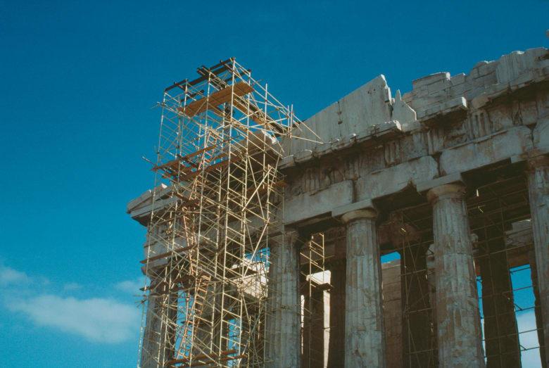 البارثينون في مدينة أثينا