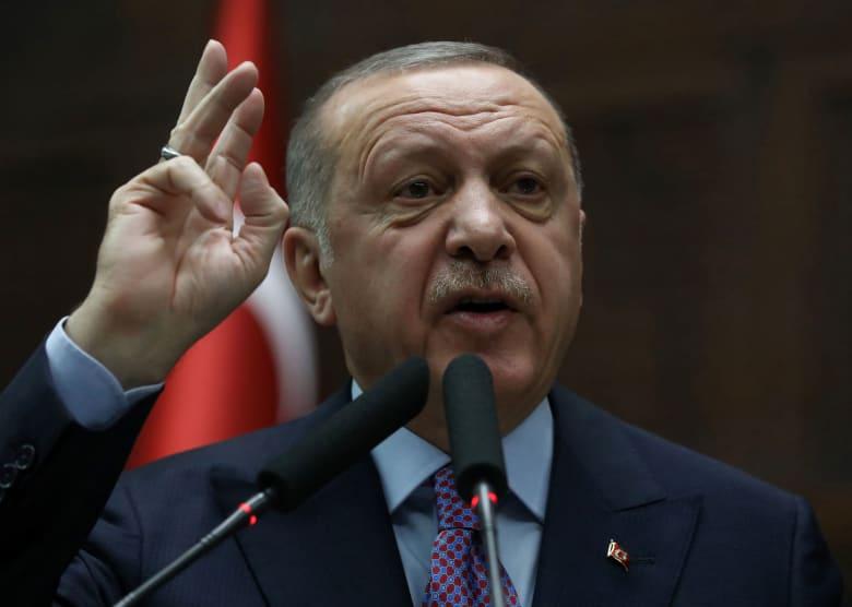 الرئيس التركي، رجب طيب اردوغان