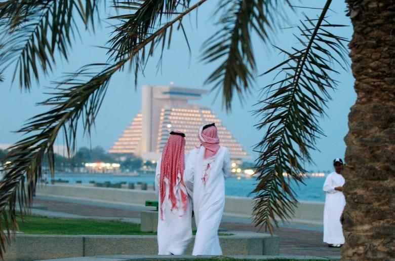 صورة ارشيفية من العاصمة القطرية، الدوحة