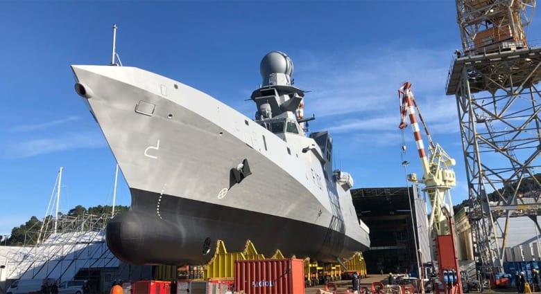 أول سفينة حربية قطرية