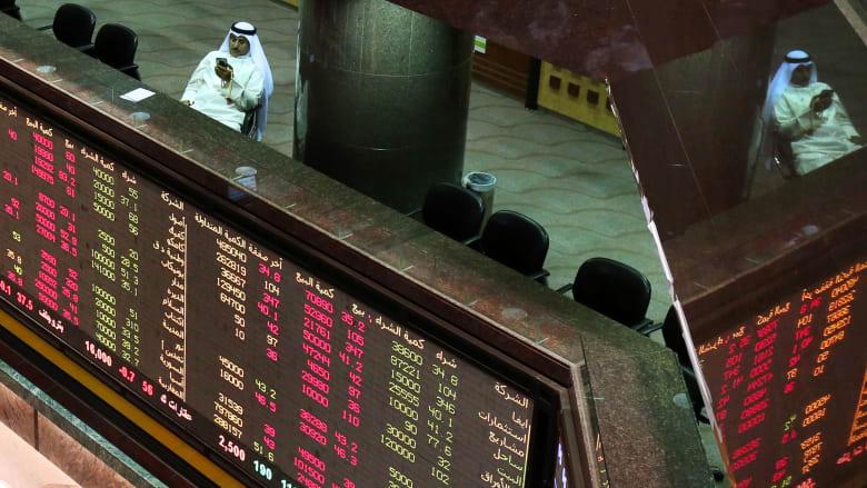صورة ارشيفية من داخل بورصة الكويت