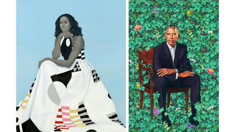 توافد 4 ملايين شخص لرؤية لوحات لباراك وميشيل أوباما.. لماذا؟