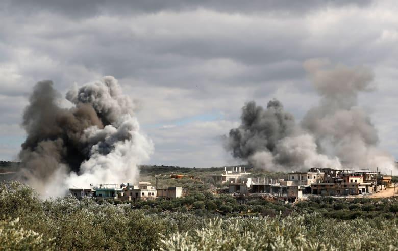 اشتباكات بين قوات النظام السوري والجيش التركي في شمال غرب سوريا