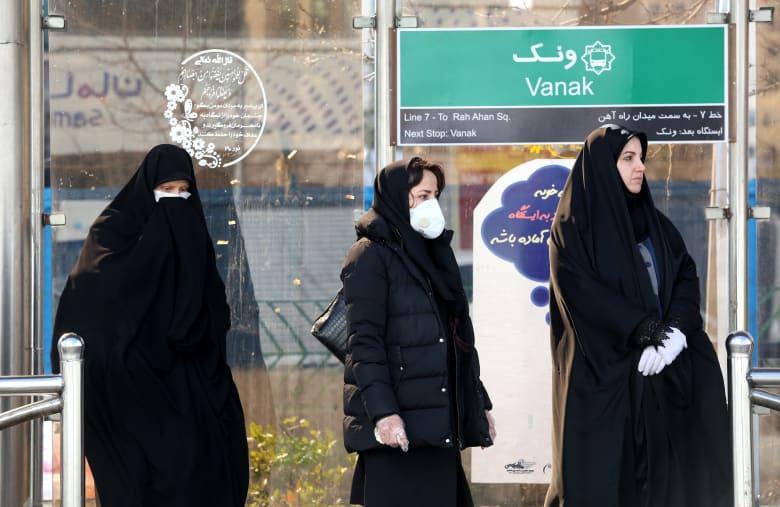 ارتفاع أعداد الوفيات في إيران نتيجة الإصابة بفيروس كورونا