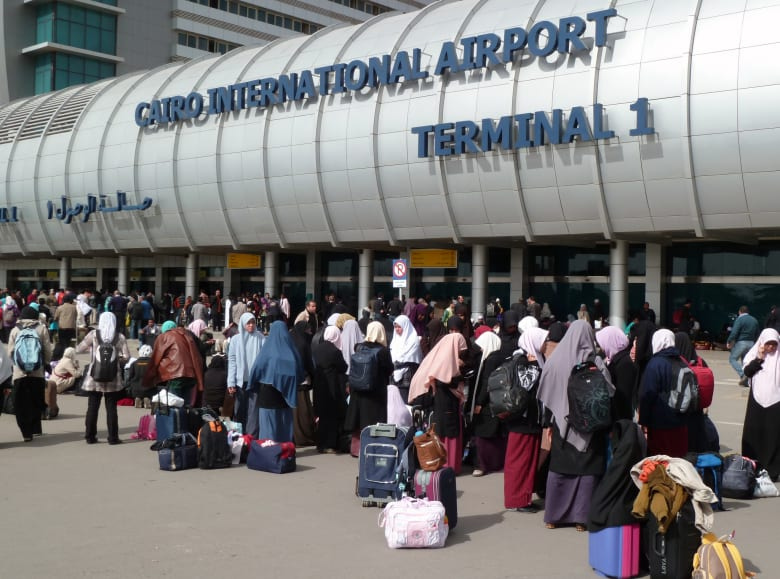 صورة ارشيفية لمطار القاهرة الدولي