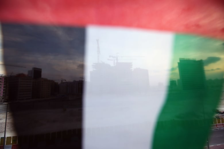 صورة ارشيفية لعلم الإمارات