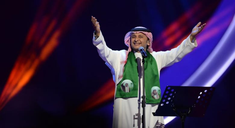 صورة ارشيفية للفنان السعودي عبدالمجيد عبدالله