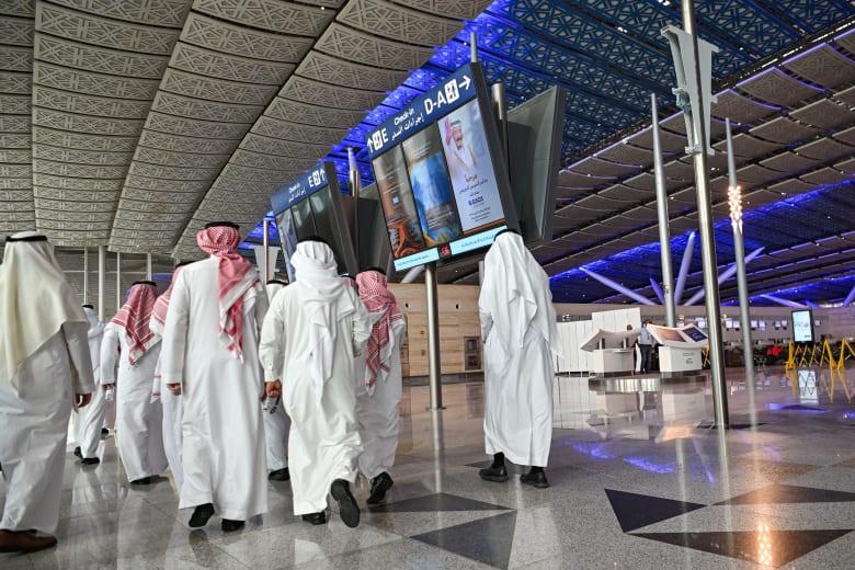 صورة ارشيفية من مطار الملك عبدالعزيز في جدة