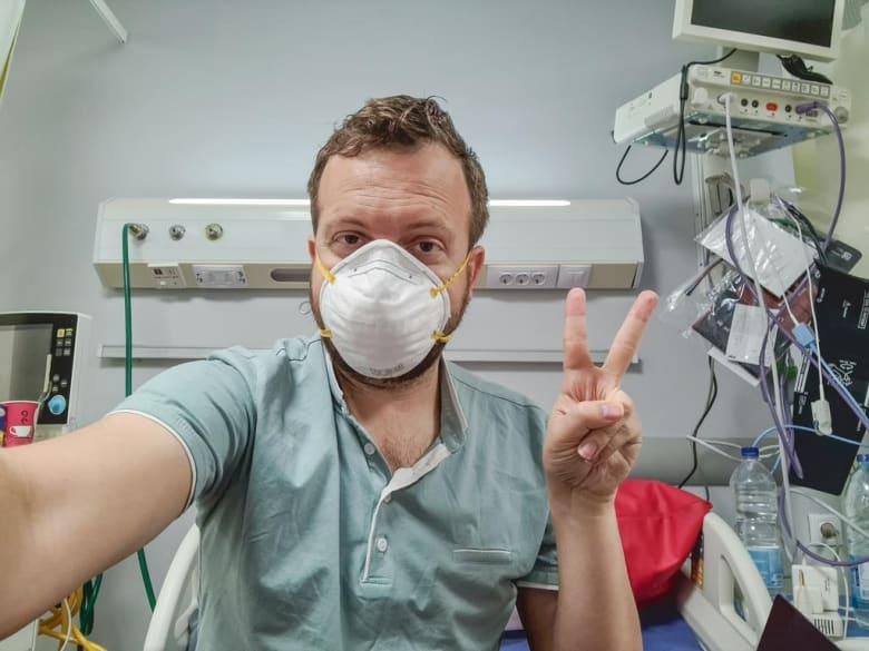 أمريكي يوثق تفاصيل علاجه من فيروس كورونا في مصر