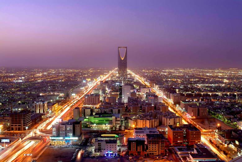 صورة لمدينة الرياض في المملكة العربية السعودية
