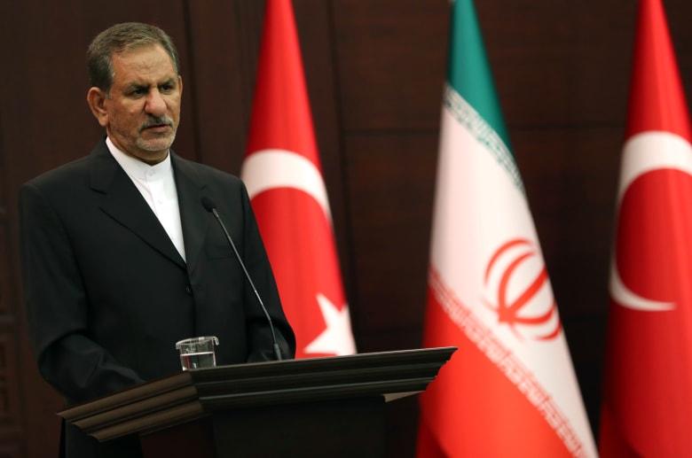 إعلان إصابة نائب الرئيس الإيراني بفيروس كورونا المستجد