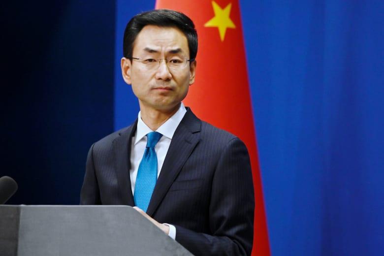 صورة ارشيفية للمتحدث باسم الخارجية الصينية جينغ شوانغ