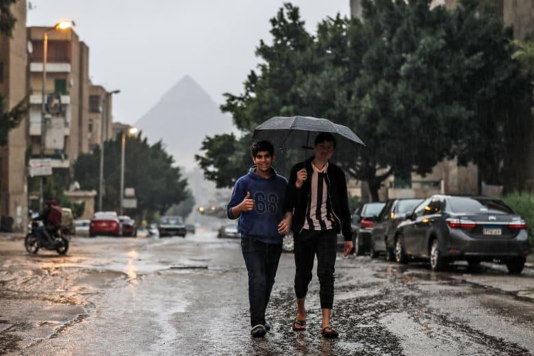 مصر تشهد موجة غير مسبوقة من الطقس السيئ