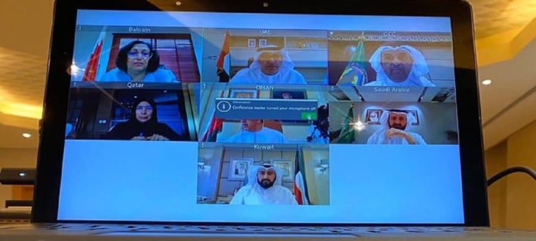 عبر الفيديو كونفرانس.. وزراء الصحة الخليجيون يتلقون لمواجهة فيروس كورونا يثير تفاعلا