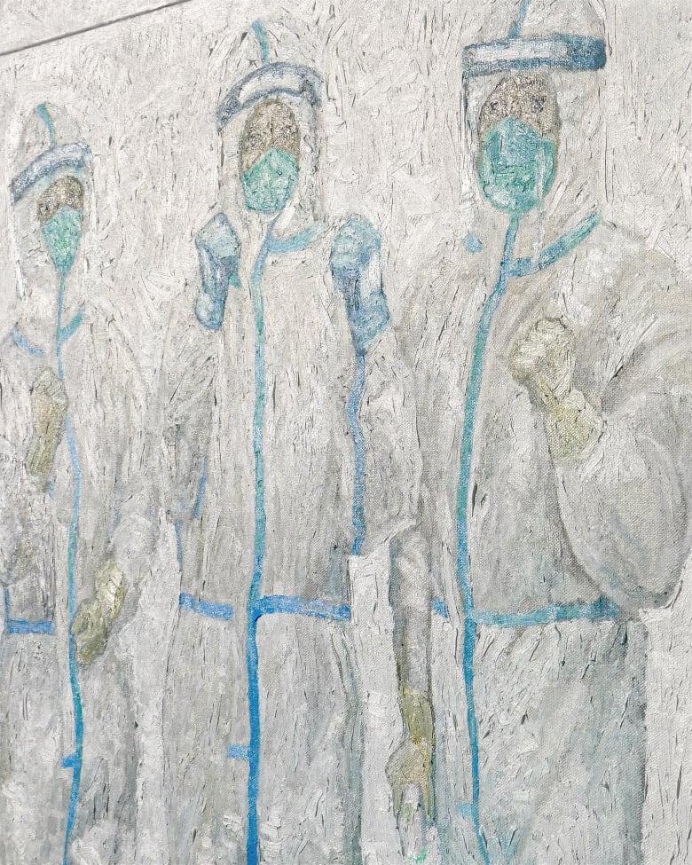 الفنان الصيني، دوي هان