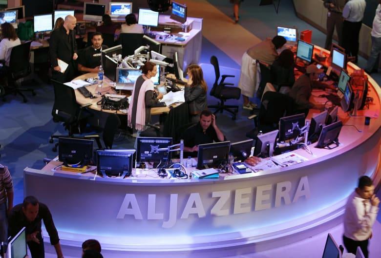 صورة ارشيفية من داخل قناة الجزيرة القطرية