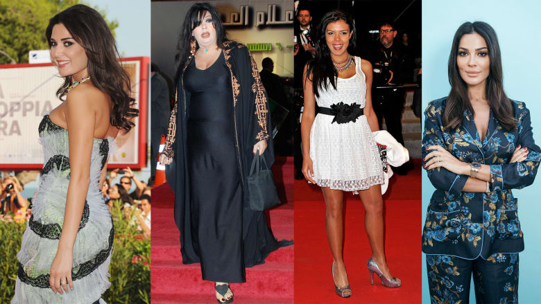 مجموعة مختارة من الصور لنجمات من العالم العربي