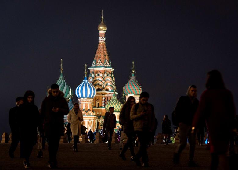 صورة ارشيفية من العاصمة الروسية موسكو