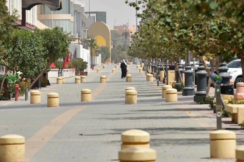 صورة من شارع التحلية في العاصمة السعودية، الرياض