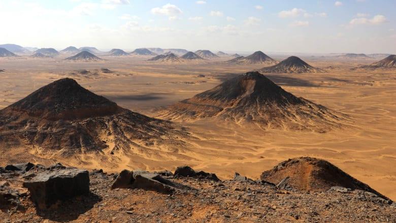 الصحراء السوداء في مصر