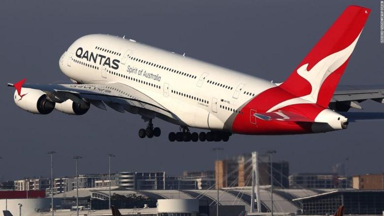 رحلة تاريخية مباشرة من أستراليا إلى لندن عبر خطوط كانتاس الجوية